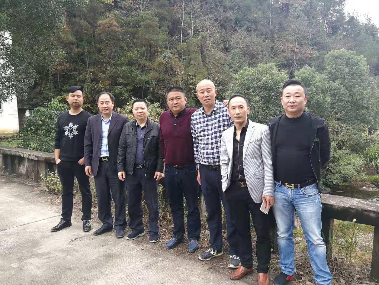 萧洪考察安徽太湖狩猎项目