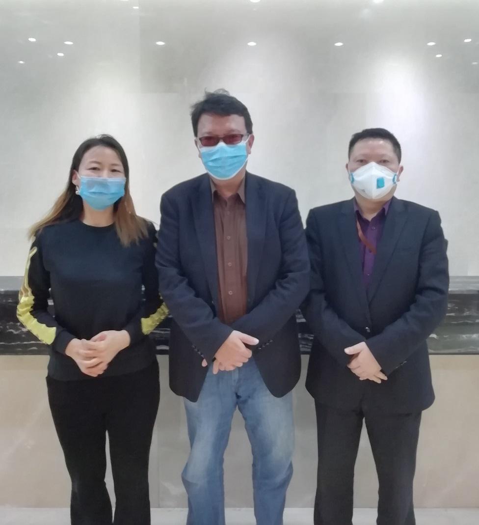台湾知名战略咨询专家黄老师到公司考察交流