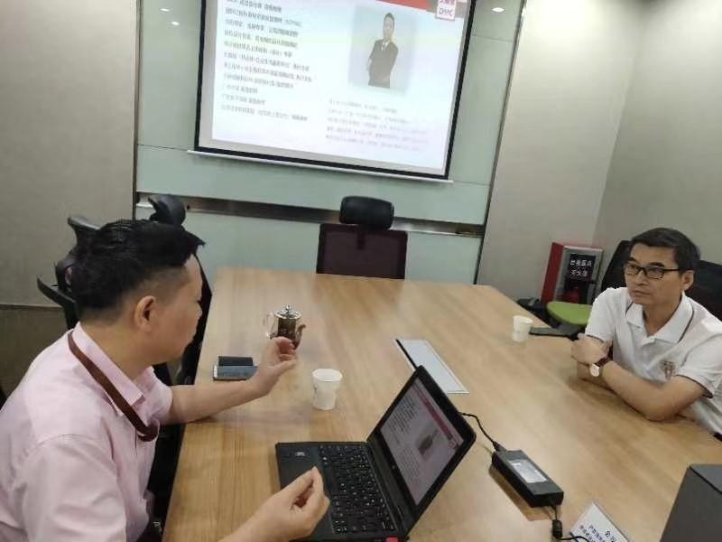 广东河南商会孙秘书长到访我司参观考察
