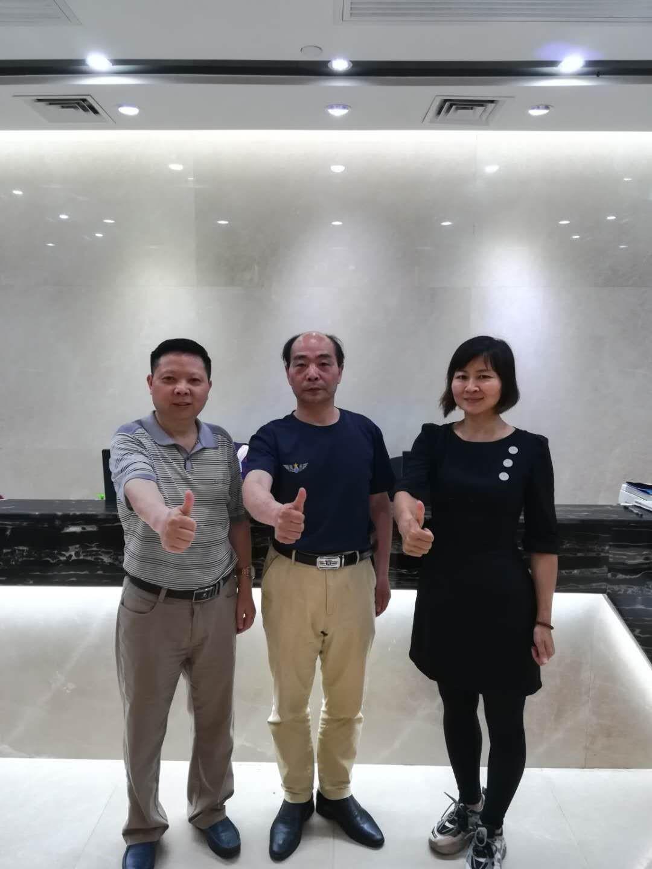 宁波老总专程来我司拜访萧洪首席执行官